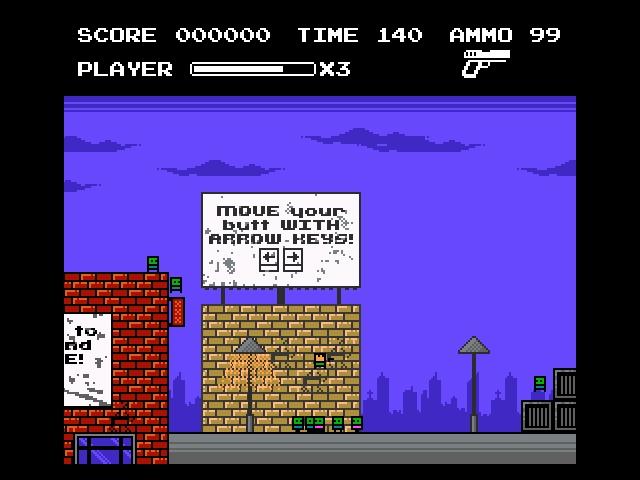 8 Bit Zombie Rush screenshot