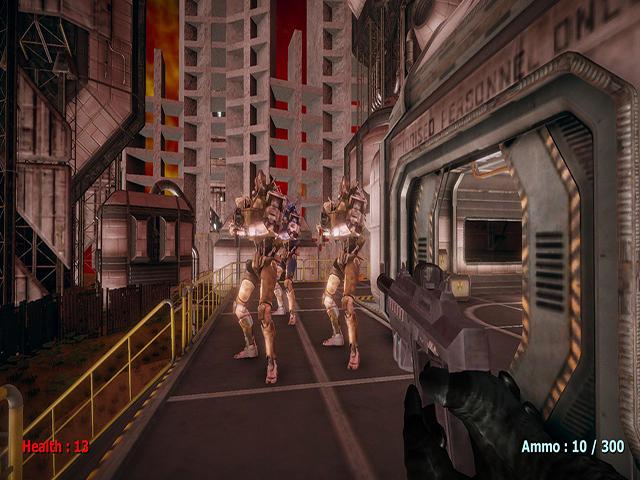 Alien Base Defender 2