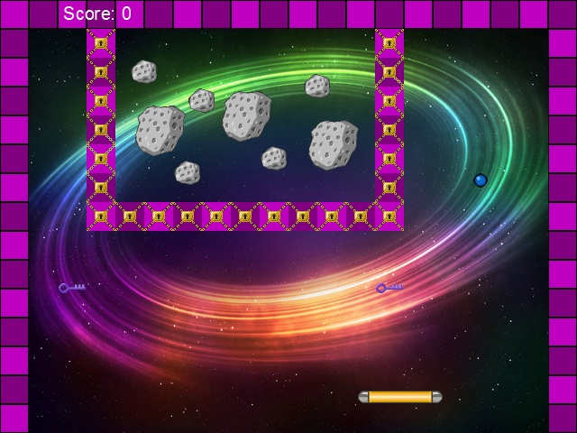 Arkanoid Attack is, naturally, a game of the arkanoid genre.