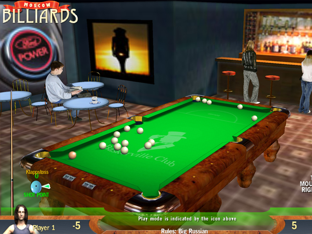 Billiards Pyramid screenshot