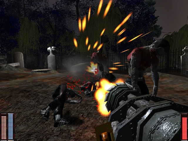 Click to view Cemetery Warrior 2.8 screenshot