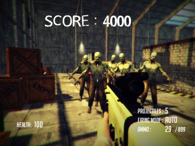 Dead Insurrection is a 3D zombie shooter featuring beautiful modern graphics with an awesome metal soundtrack! You barricaded yourself in an abandoned hangar hoping to survive, but more and more zombies are coming, and you may retreat no further. You