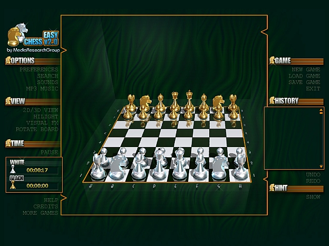 The virtual incarnation of chess will not disappoint fans of the original chess. well known Screen Shot