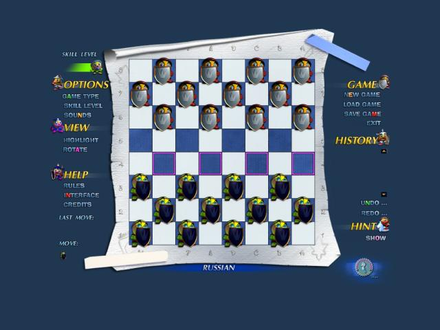 Falco Checkers II screenshot