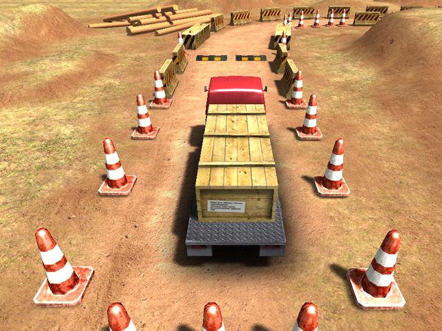 Heavy Truck Parking screenshot