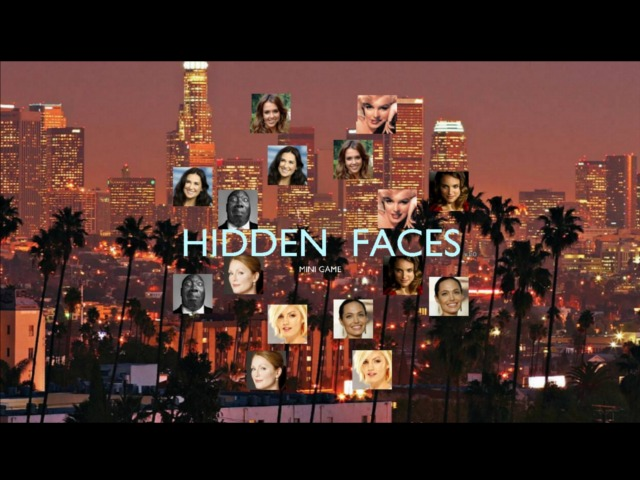 Hidden faces is a vivid manifestation of the