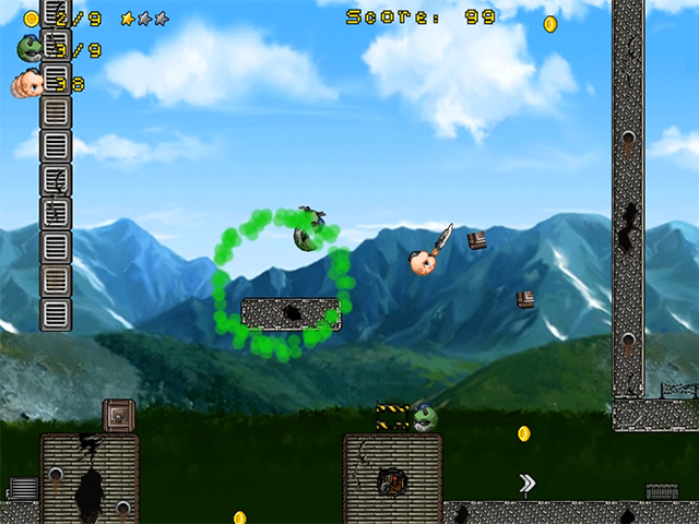 "The physical game ""Mad Heads"" immerses you in a fantastic platform world, where"