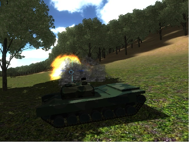 This game will allow you to take part in a tank battle!. Destroy all the enemies