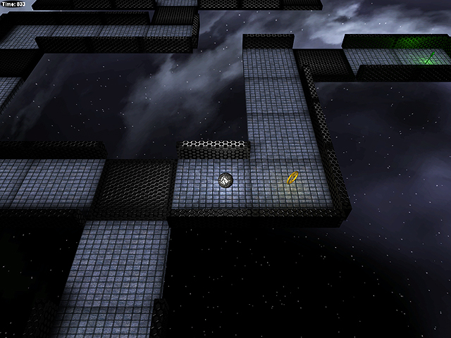 Metal Ball: Space Maze is a game in which..