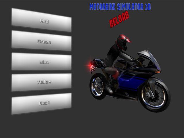 Motorbike Simulator 3D Reload screenshot