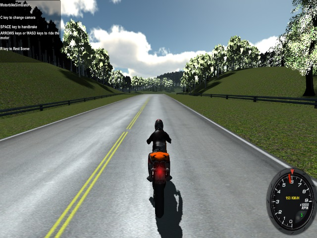 Free download Motorbike Simulator 3D