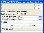 PDF To PNG Converter