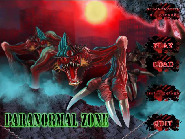 Paranormal zone is a sci-fi shooter/scroller.
