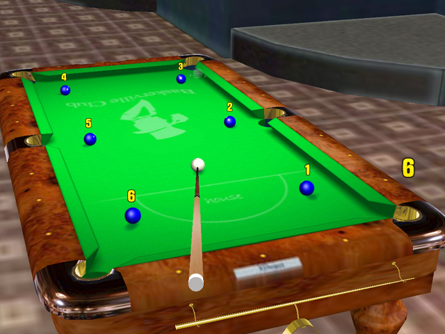 Pool Cueshot screenshot