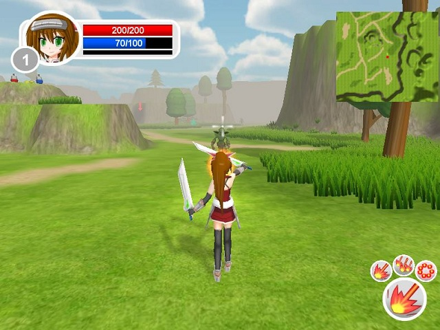 Princess Warrior 2 screenshot