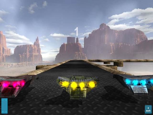 Want to see how the racing of the future will look? This game is for you! In Racingo you will be able to compete with your rivals at tremendous speeds, using cars with jet engines! Immerse yourself in the future ultradynamic racing under great music