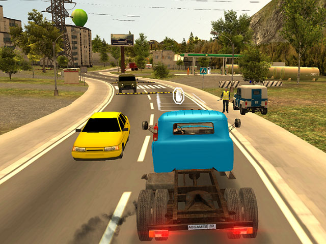 Russian Car Driver ZIL 130 screenshot