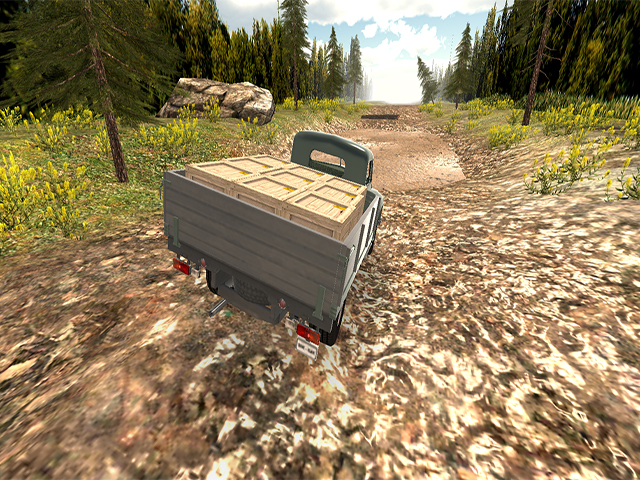 Russian Off Road Pickup Driver screenshot
