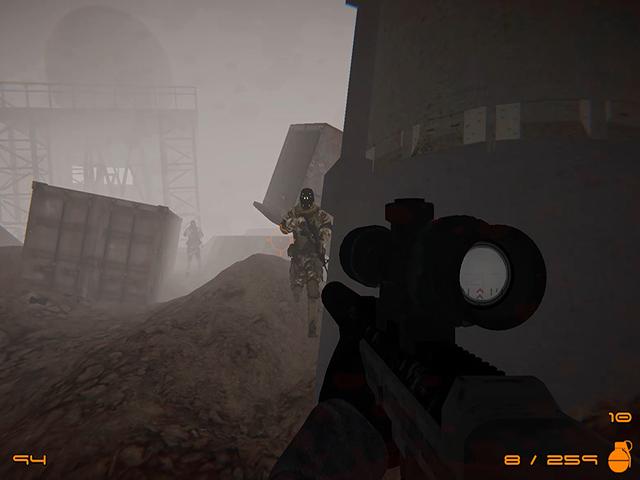 Shadows In Fog