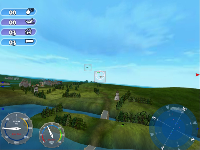 Sky Aces - Kampf der Reichsadler is an arcade aviation simulator.