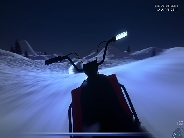 Snowmobile Simulator screenshot