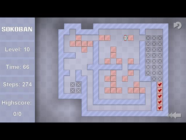 Sokoban Deluxe screenshot