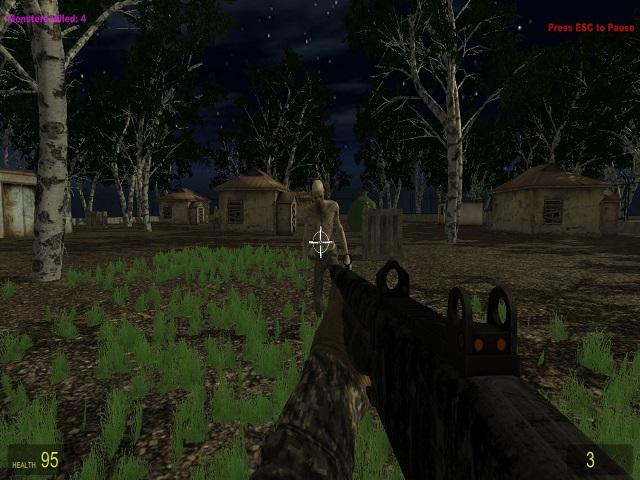 Survival In Zombie Village