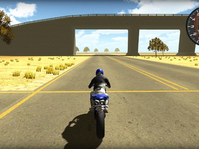 Test Motorbike
