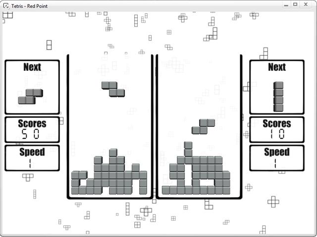 Tetris Red Point screenshot