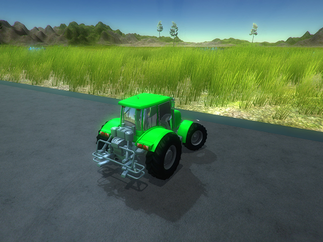 Tractor Game screenshot