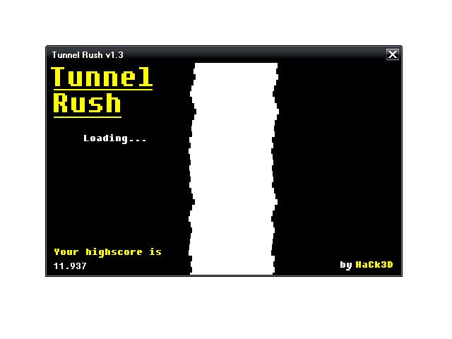 Tunnel Rush is a little game whose beauty..