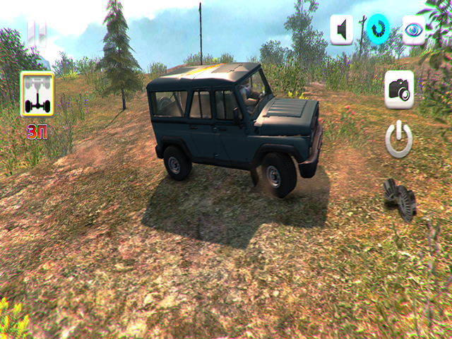 Uaz 4x4 Off Road Racing II screenshot