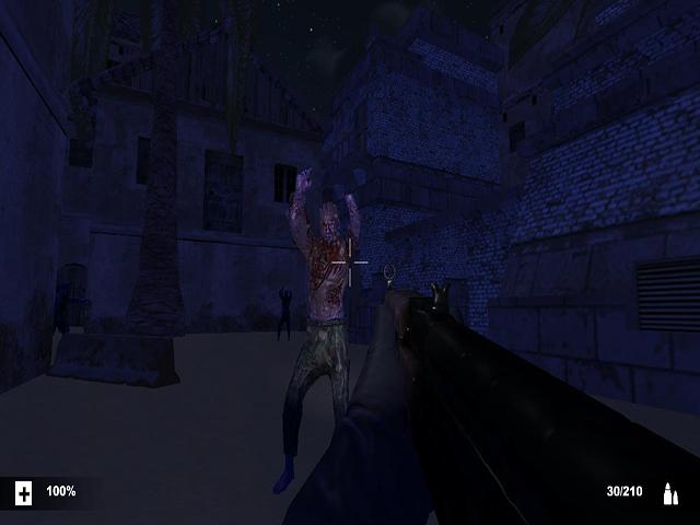 Vilage In Night