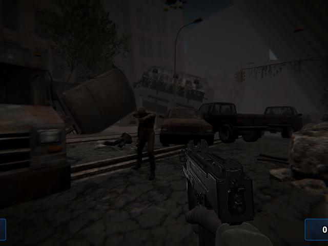 Zombie In Ruine 2