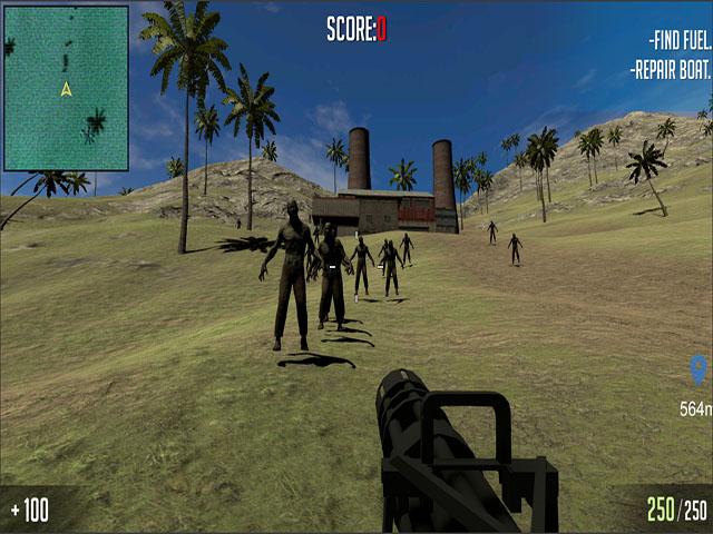 Zombie Survival Beach