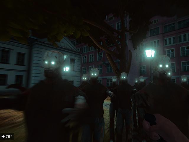 Zombies In Dark