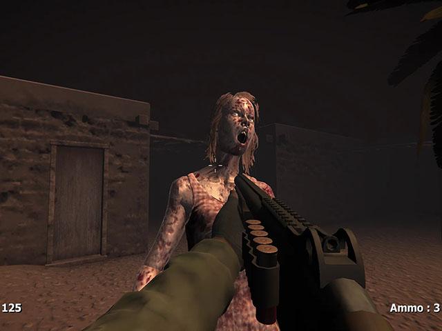 Zombies In The Desert